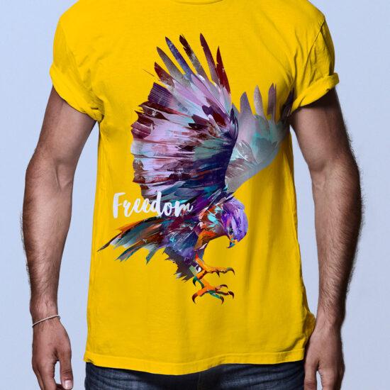 Camisetas hombre águila