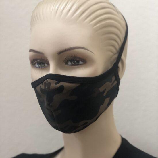 Mascarilla personalizada camuflaje sublimación